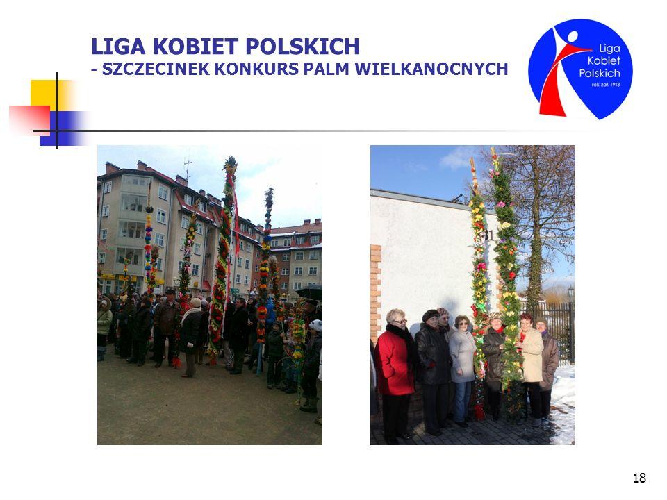 LIGA KOBIET POLSKICH - SZCZECINEK KONKURS PALM WIELKANOCNYCH