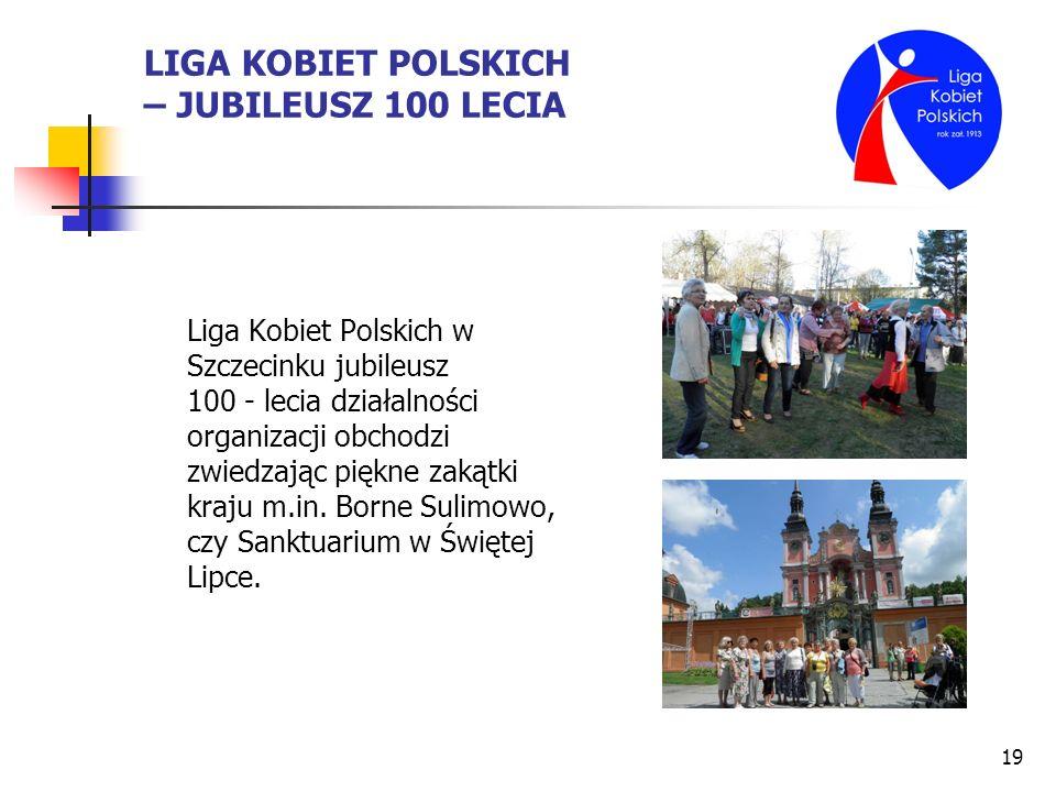 LIGA KOBIET POLSKICH – JUBILEUSZ 100 LECIA