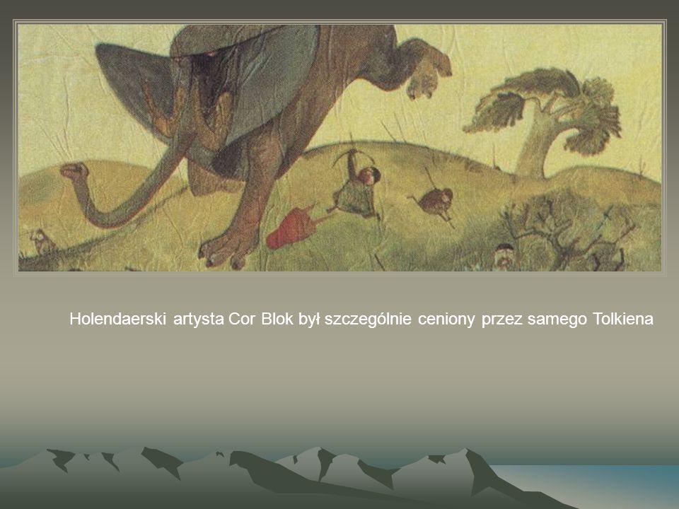 Holendaerski artysta Cor Blok był szczególnie ceniony przez samego Tolkiena