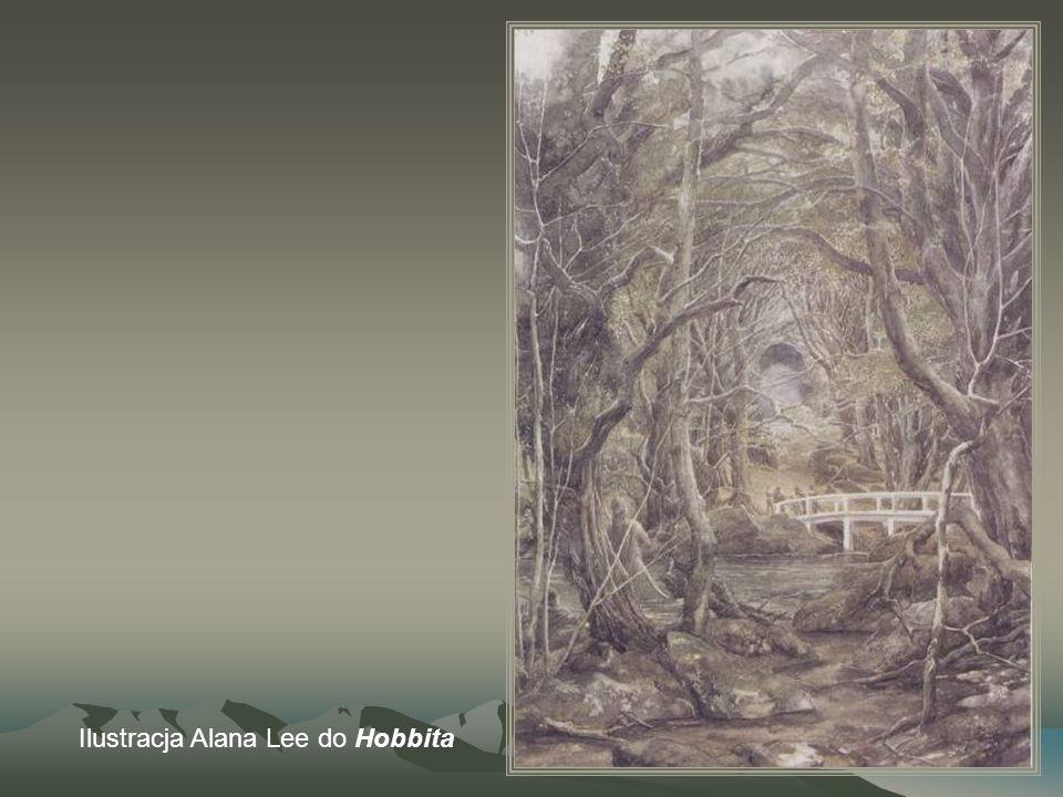 Ilustracja Alana Lee do Hobbita