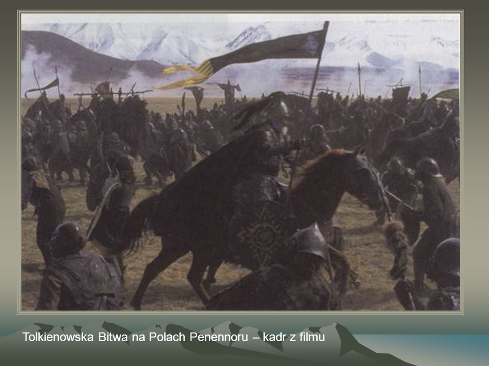 Tolkienowska Bitwa na Polach Penennoru – kadr z filmu