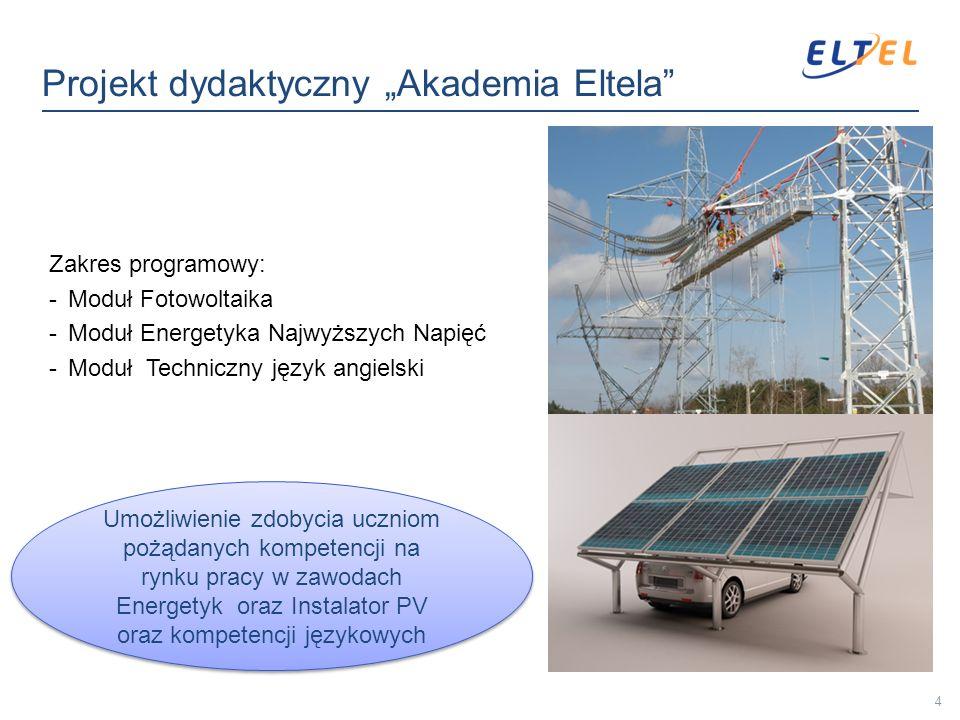 """Projekt dydaktyczny """"Akademia Eltela"""