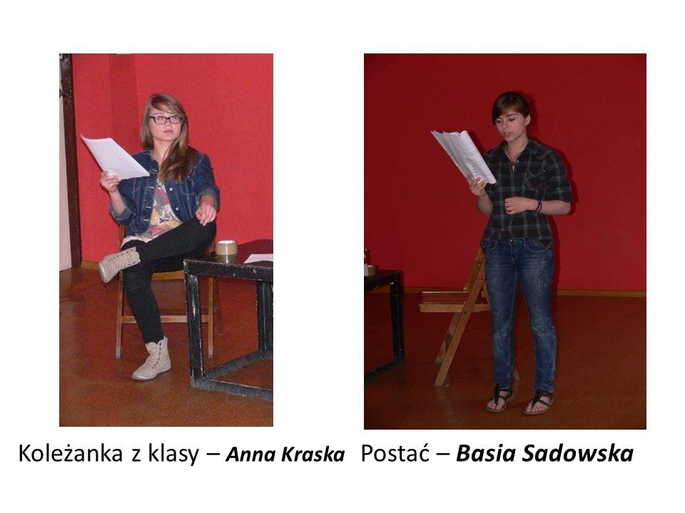 Koleżanka z klasy – Anna Kraska