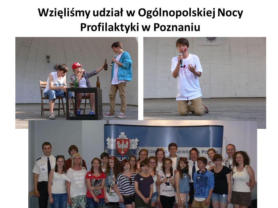 Wzięliśmy udział w Ogólnopolskiej Nocy Profilaktyki w Poznaniu