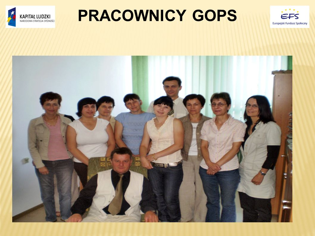 PRACOWNICY GOPS 8