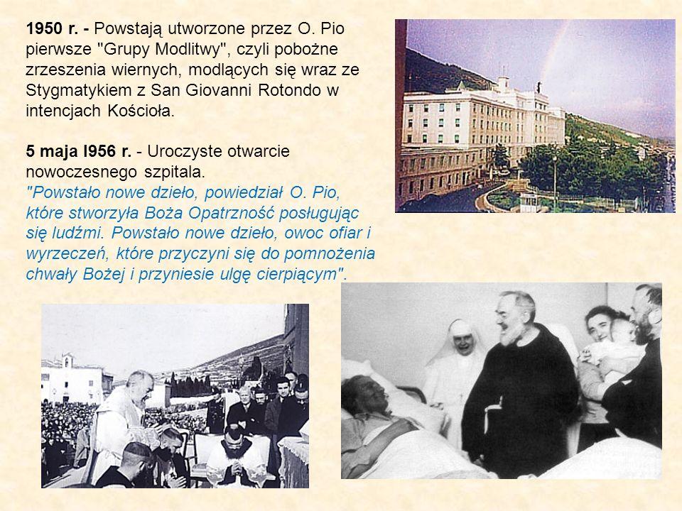 1950 r. - Powstają utworzone przez O