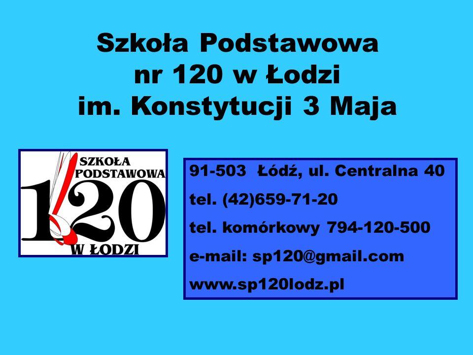 Szkoła Podstawowa nr 120 w Łodzi im. Konstytucji 3 Maja