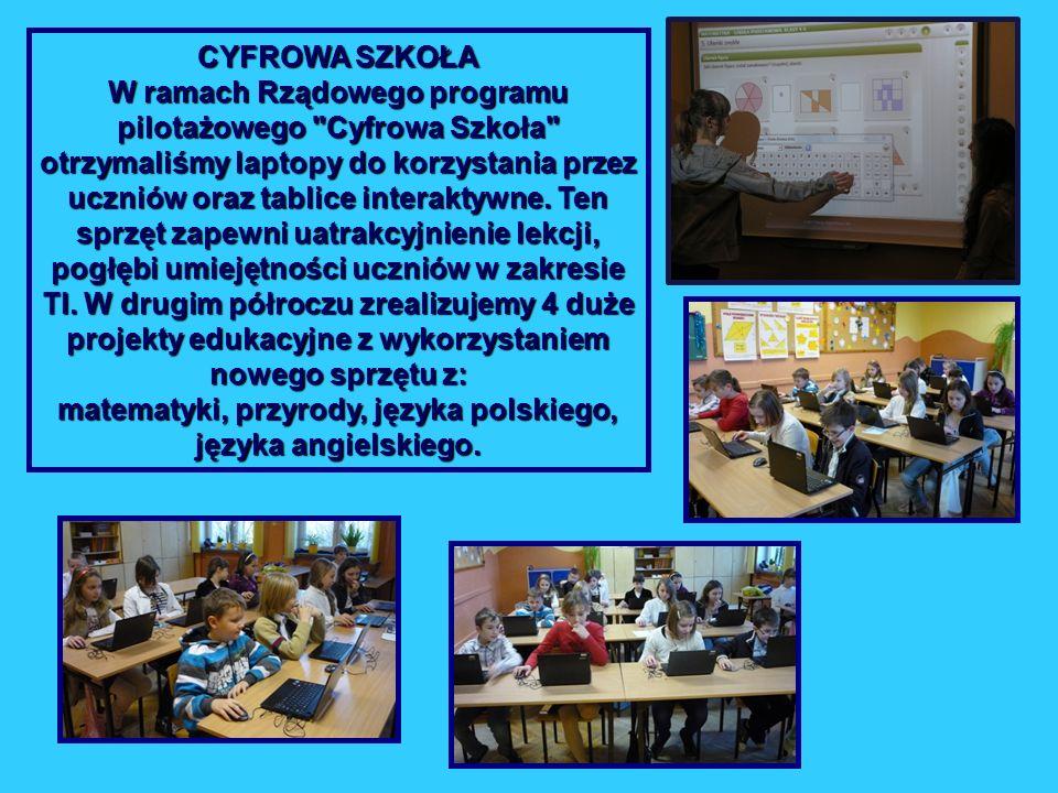 matematyki, przyrody, języka polskiego,
