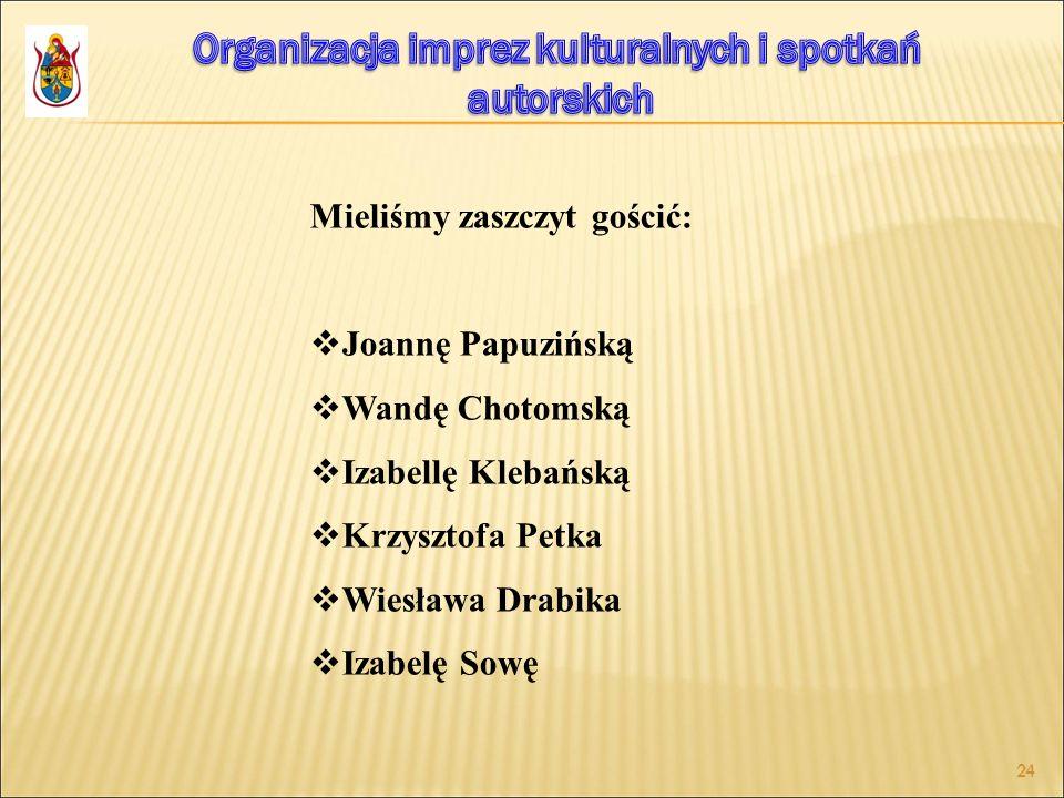 Organizacja imprez kulturalnych i spotkań