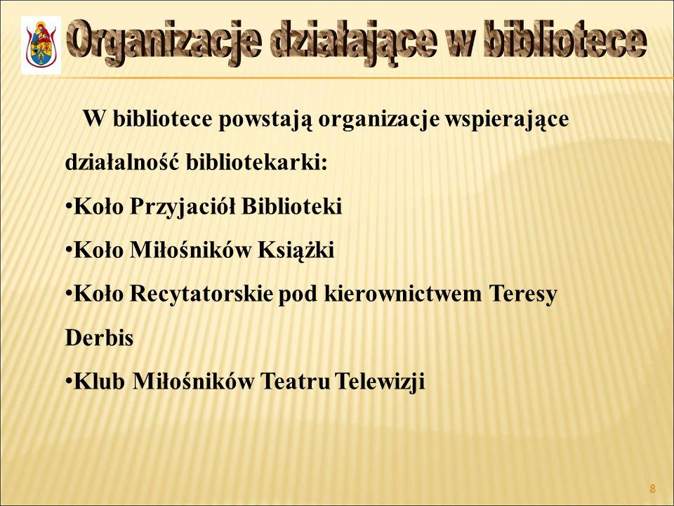 Organizacje działające w bibliotece