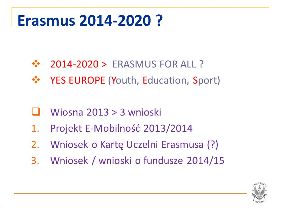 Erasmus 2014-2020 2014-2020 > ERASMUS FOR ALL