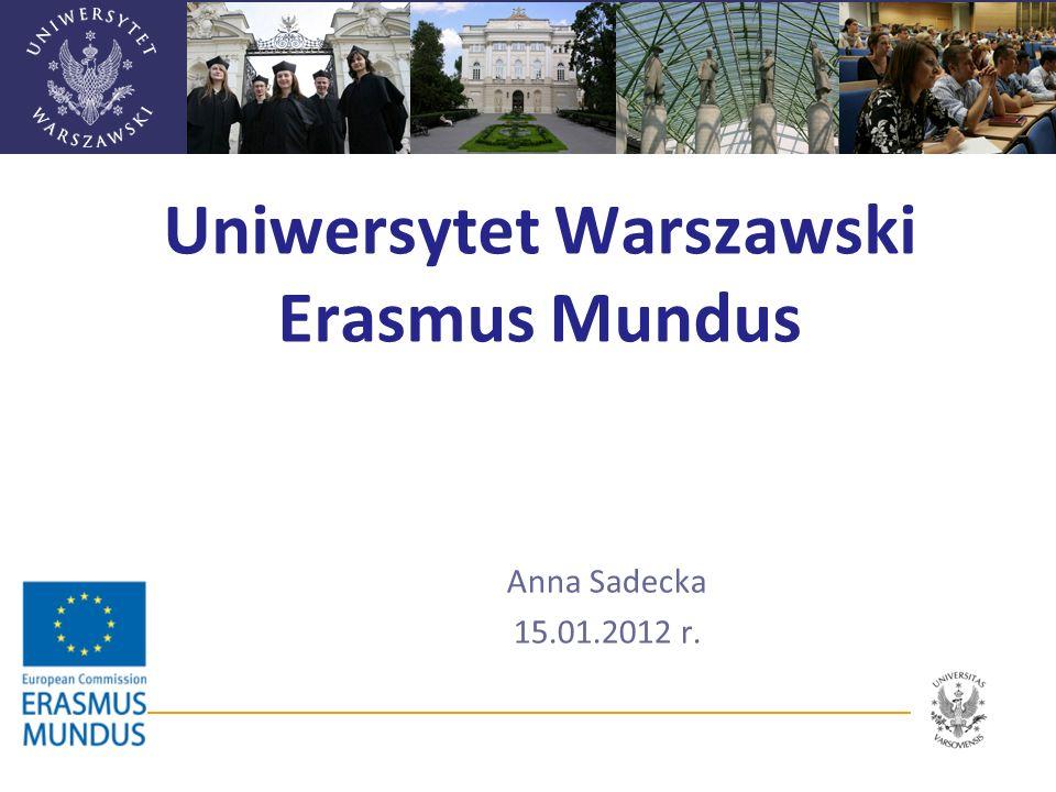 Uniwersytet Warszawski Erasmus Mundus
