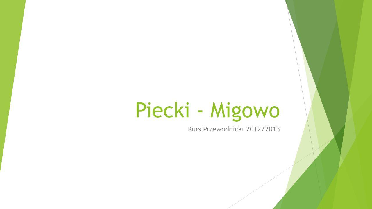 Piecki - Migowo Kurs Przewodnicki 2012/2013