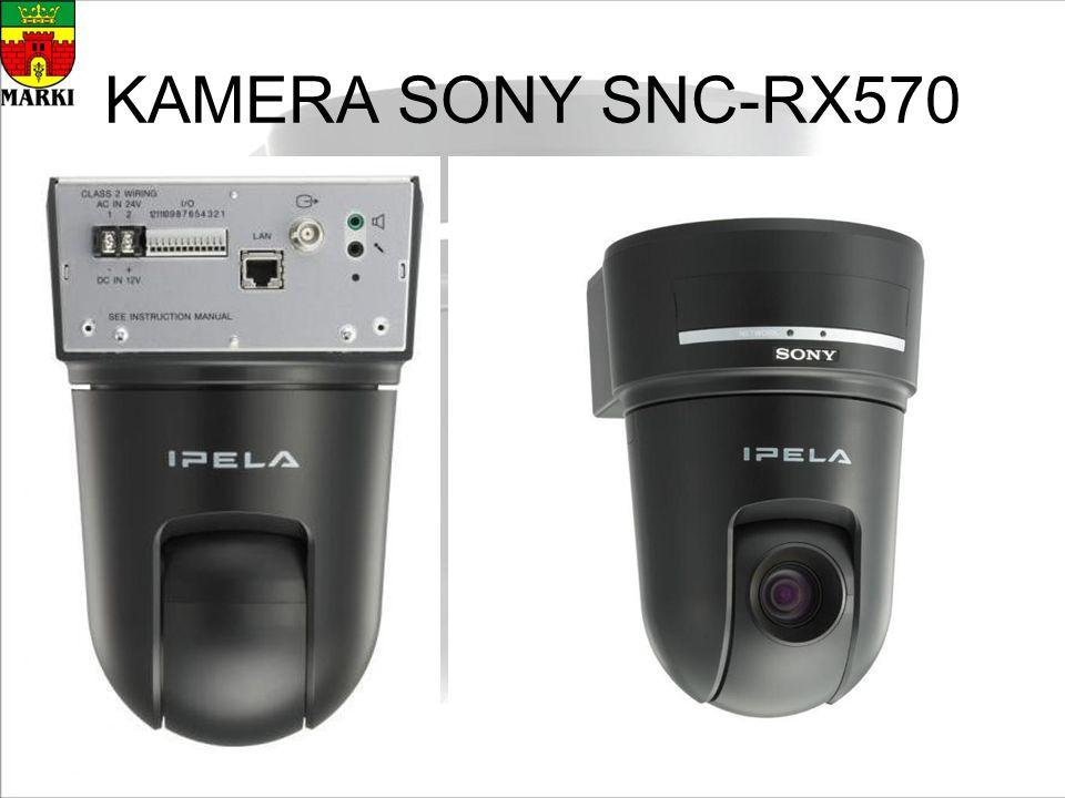 KAMERA SONY SNC-RX570