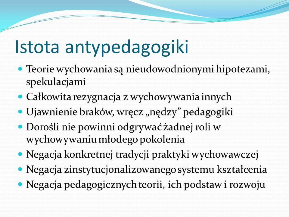 Istota antypedagogiki