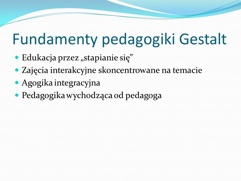 Fundamenty pedagogiki Gestalt