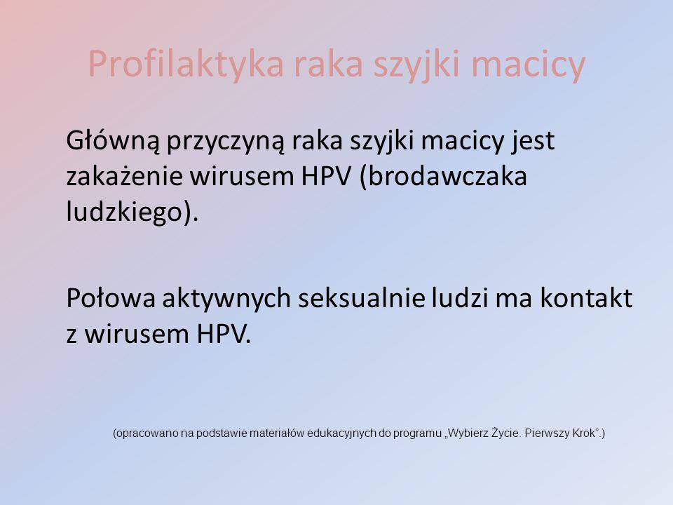 Profilaktyka raka szyjki macicy