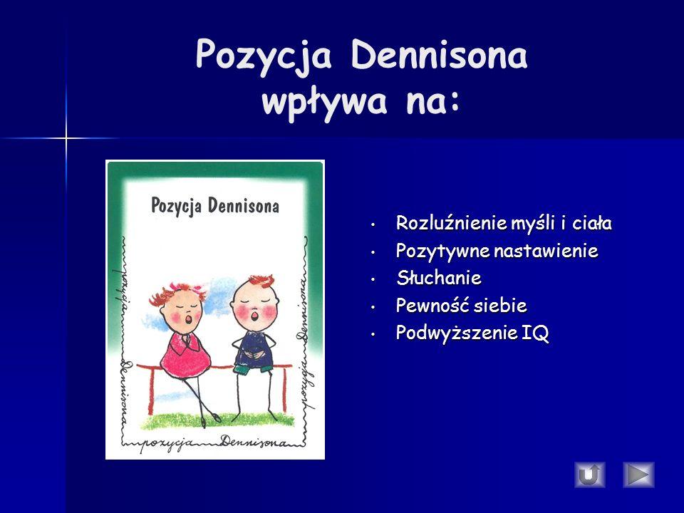 Pozycja Dennisona wpływa na: