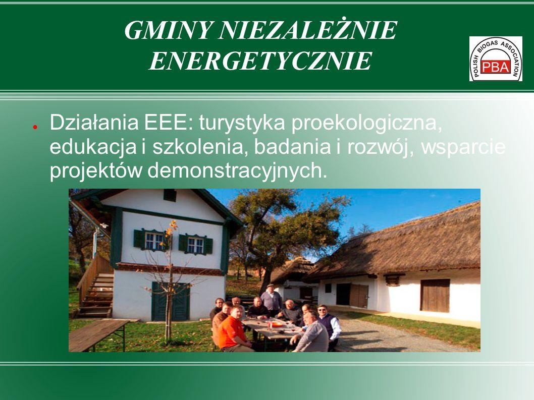 GMINY NIEZALEŻNIE ENERGETYCZNIE