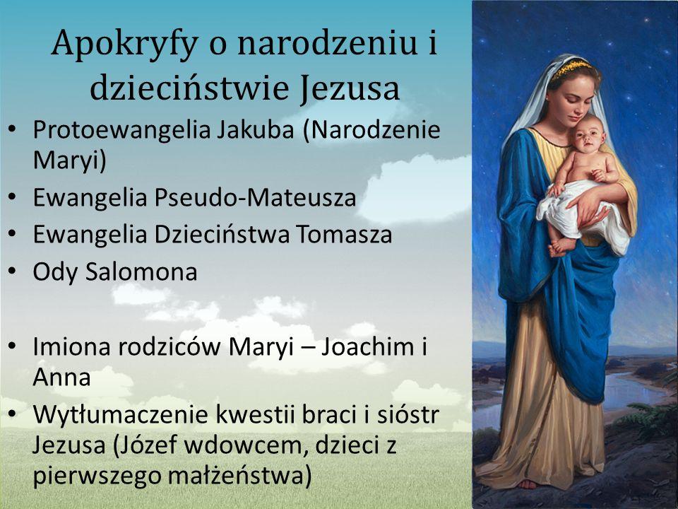 Apokryfy o narodzeniu i dzieciństwie Jezusa