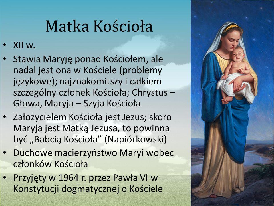 Matka Kościoła XII w.
