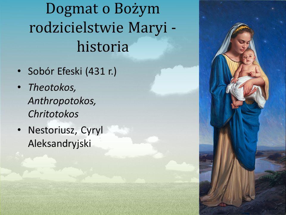 Dogmat o Bożym rodzicielstwie Maryi - historia