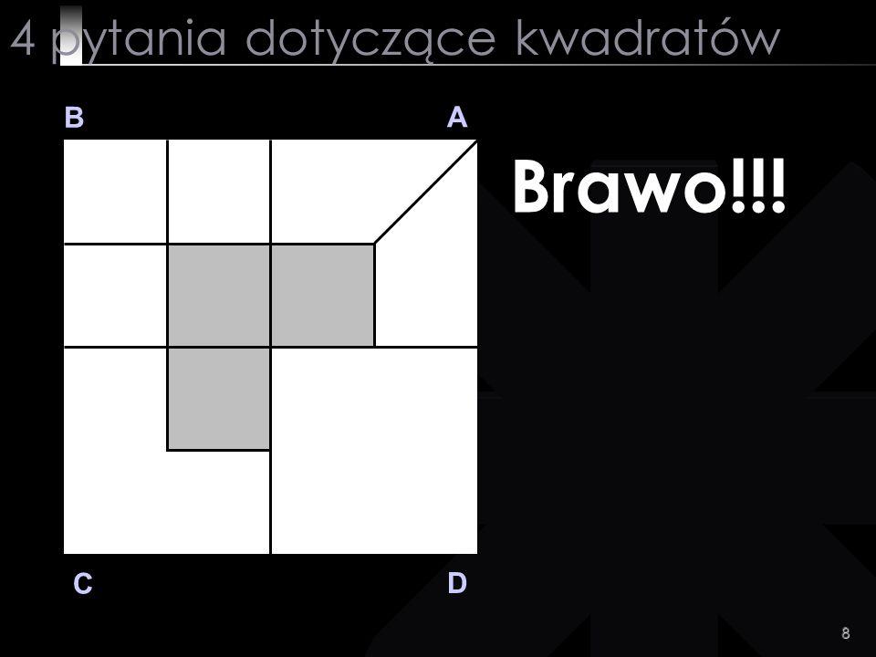 4 pytania dotyczące kwadratów