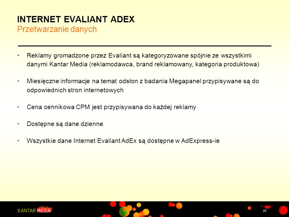INTERNET EVALIANT ADEX