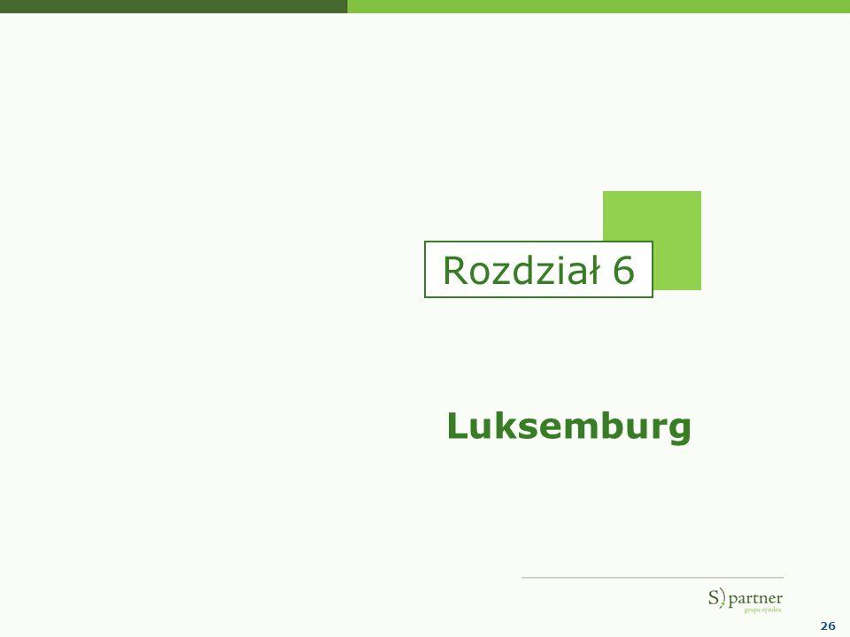 Rozdział 6 Luksemburg