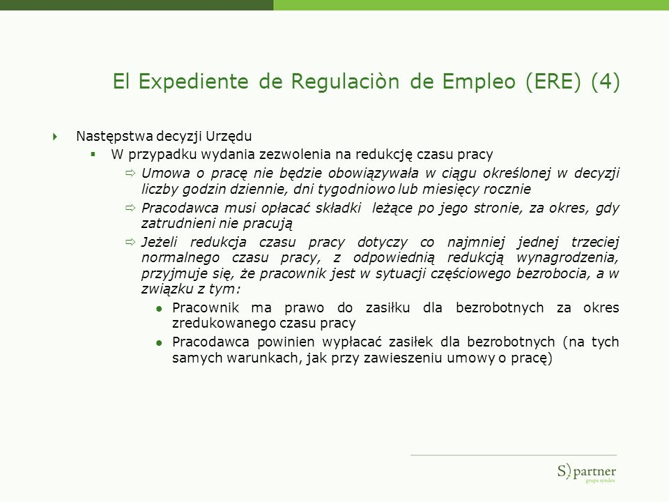 El Expediente de Regulaciòn de Empleo (ERE) (4)