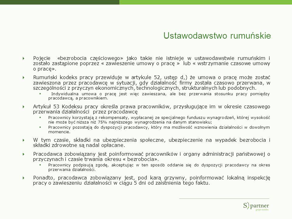 Ustawodawstwo rumuńskie