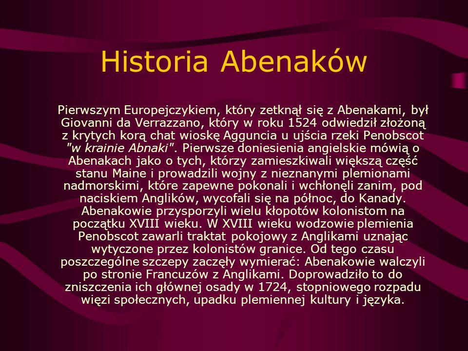 Historia Abenaków