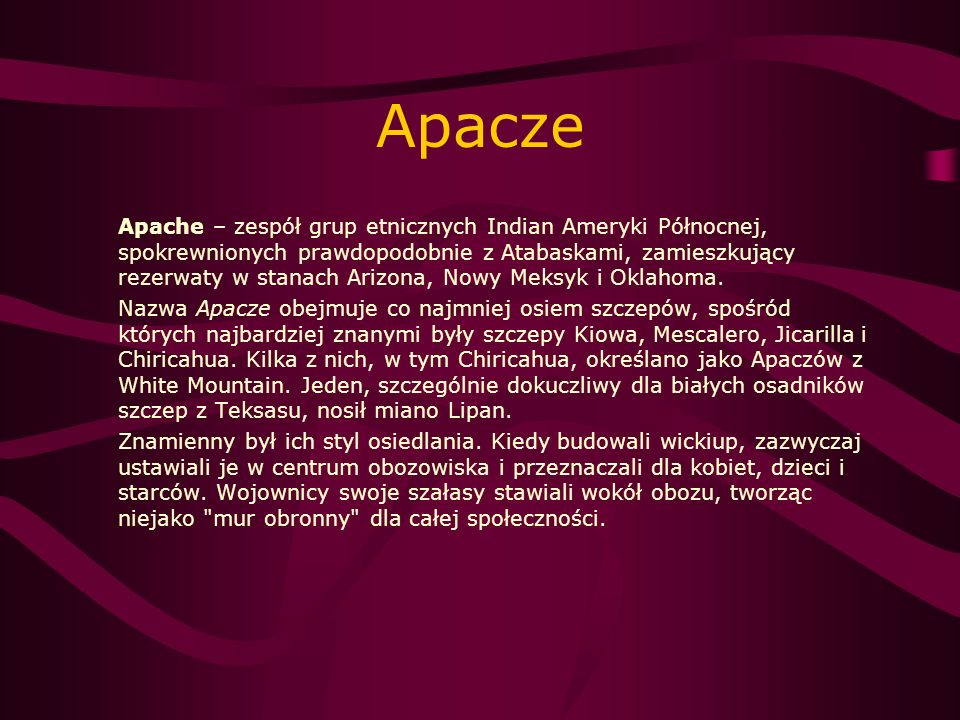 Apacze