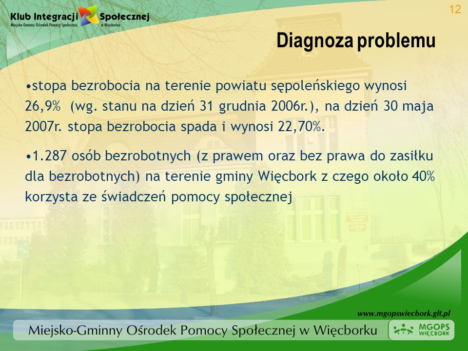 12 Diagnoza problemu.