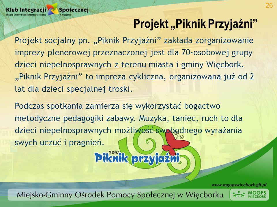 """Projekt """"Piknik Przyjaźni"""