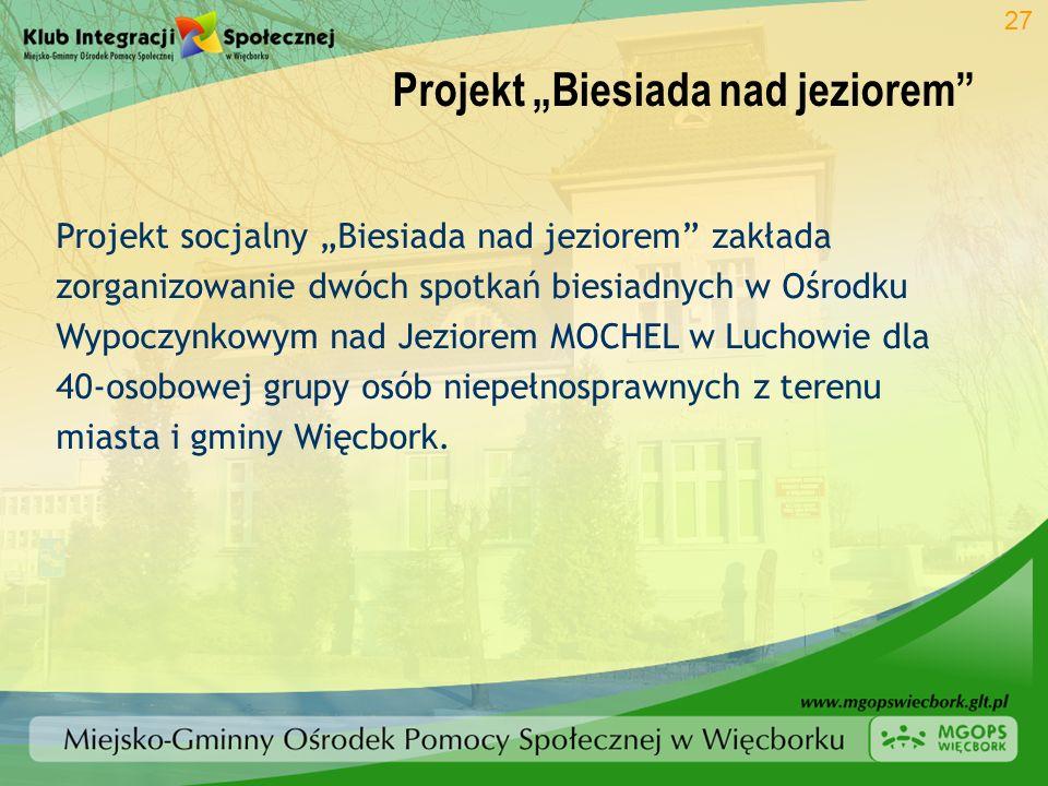 """Projekt """"Biesiada nad jeziorem"""