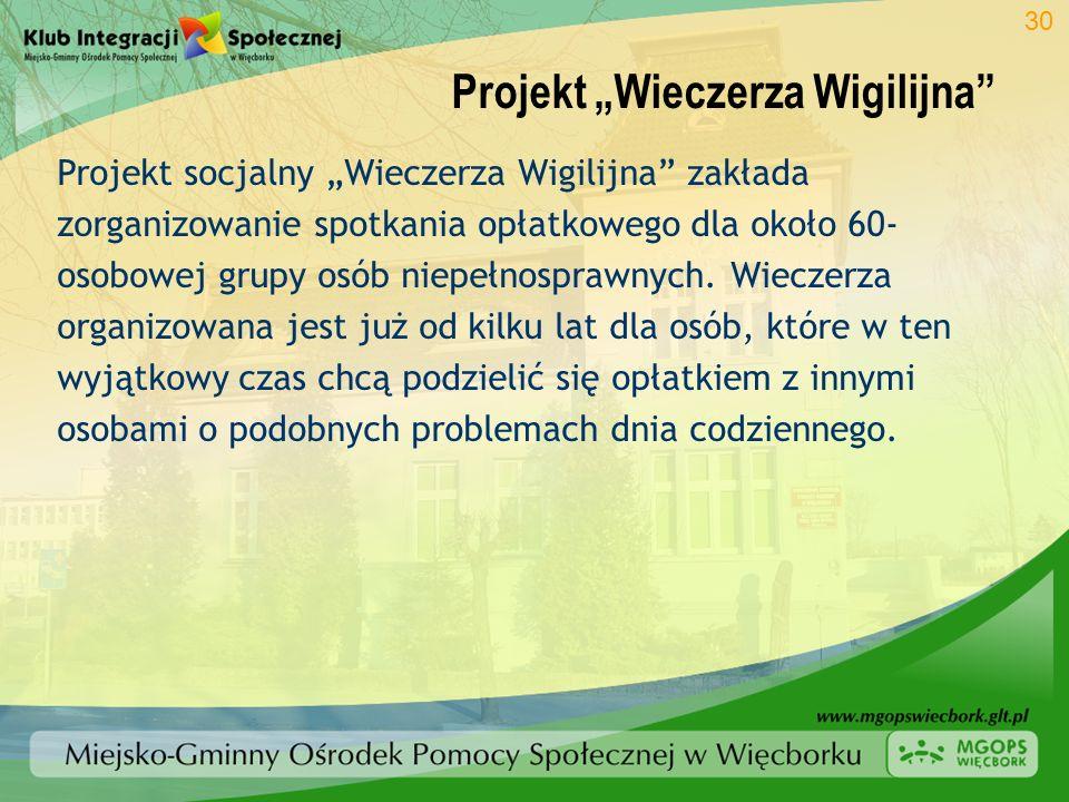 """Projekt """"Wieczerza Wigilijna"""