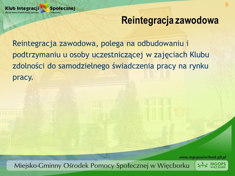 Reintegracja zawodowa