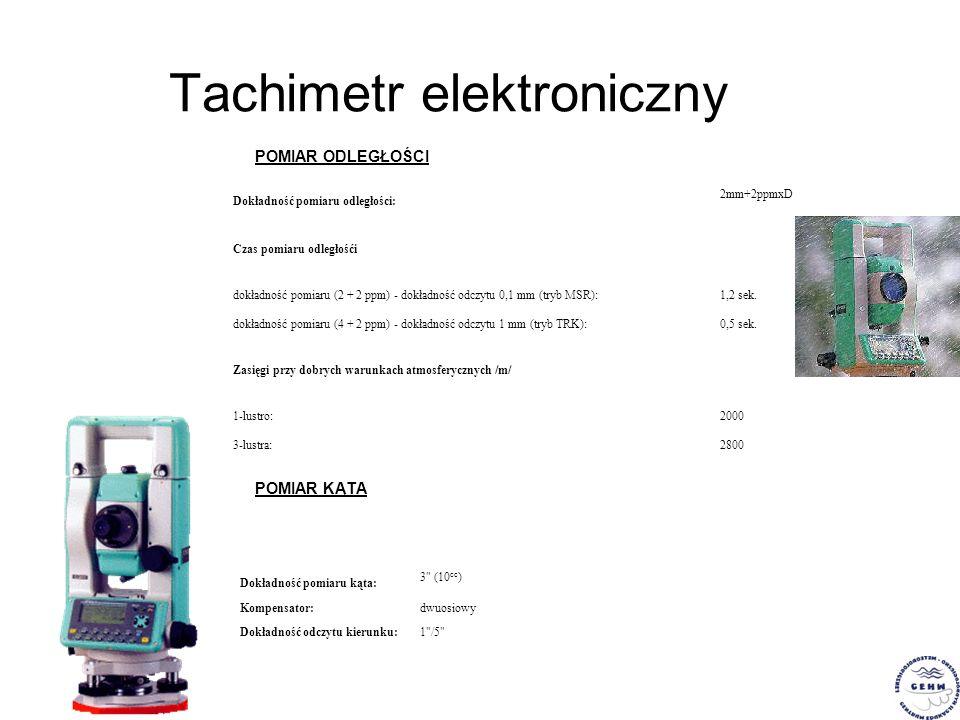 Tachimetr elektroniczny