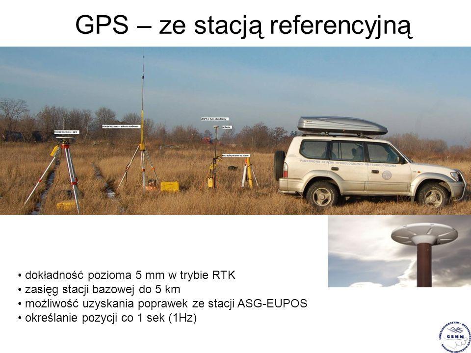 GPS – ze stacją referencyjną