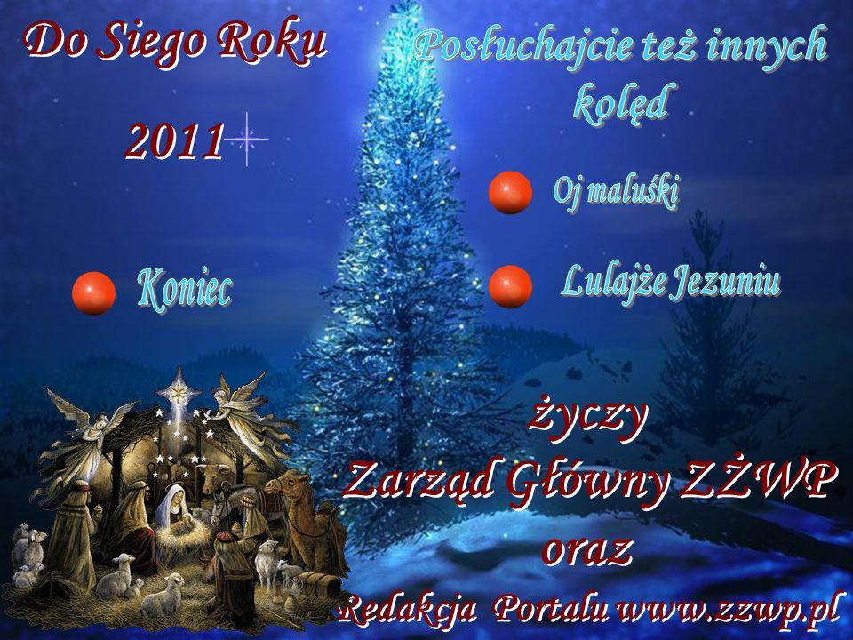 Do Siego Roku 2011 życzy Zarząd Główny ZŻWP oraz