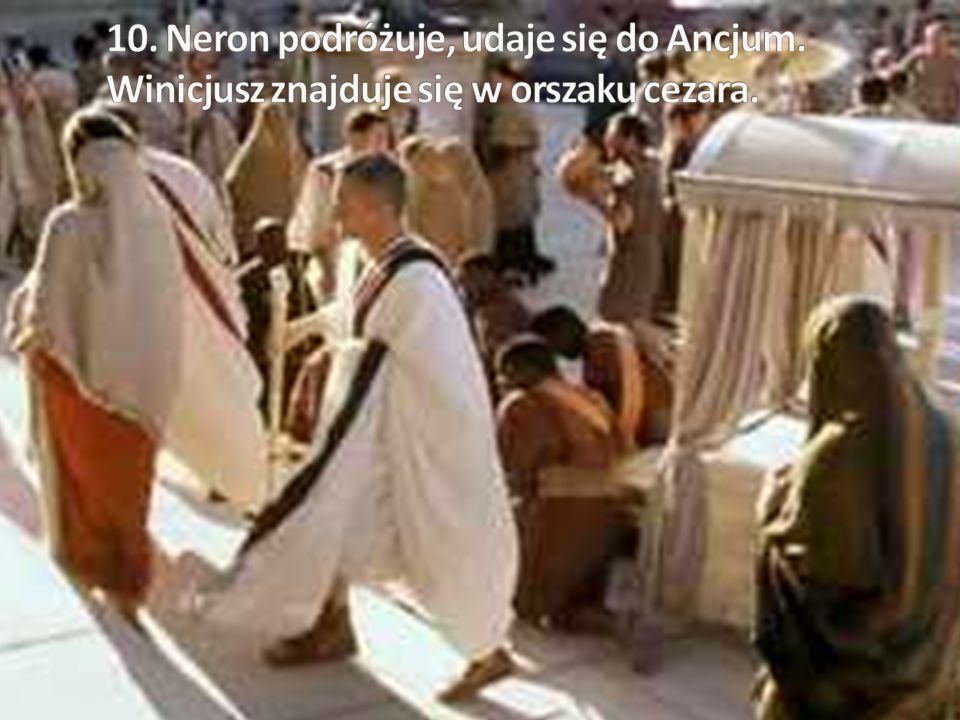 10. Neron podróżuje, udaje się do Ancjum