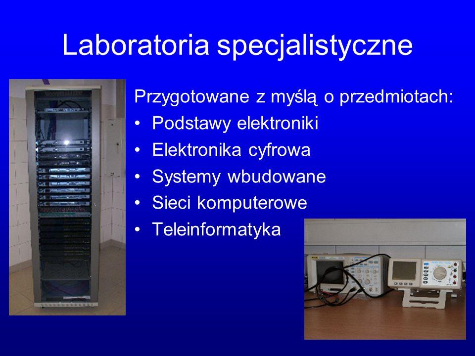 Laboratoria specjalistyczne