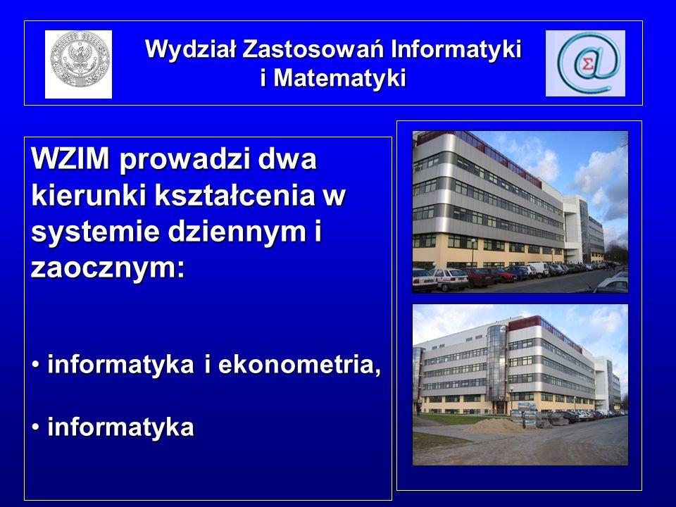 Wydział Zastosowań Informatyki i Matematyki