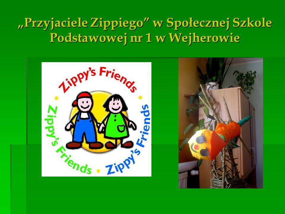 """""""Przyjaciele Zippiego w Społecznej Szkole Podstawowej nr 1 w Wejherowie"""
