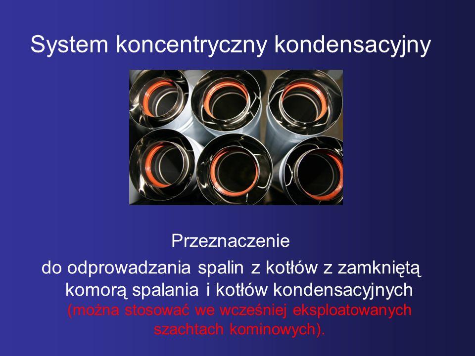 System koncentryczny kondensacyjny