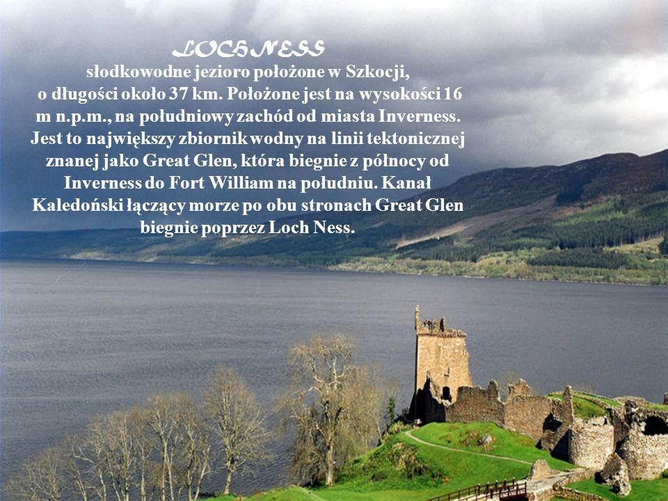 słodkowodne jezioro położone w Szkocji,