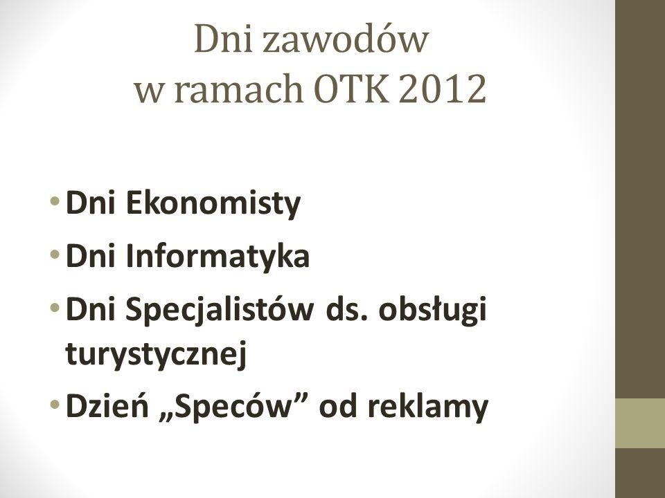 Dni zawodów w ramach OTK 2012