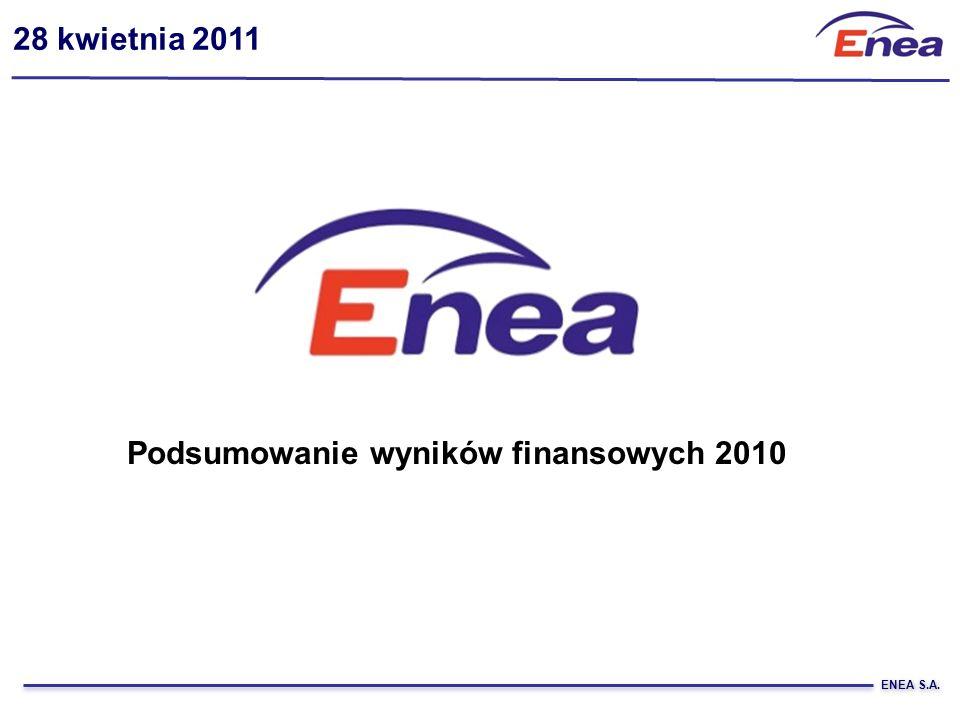 Podsumowanie wyników finansowych 2010