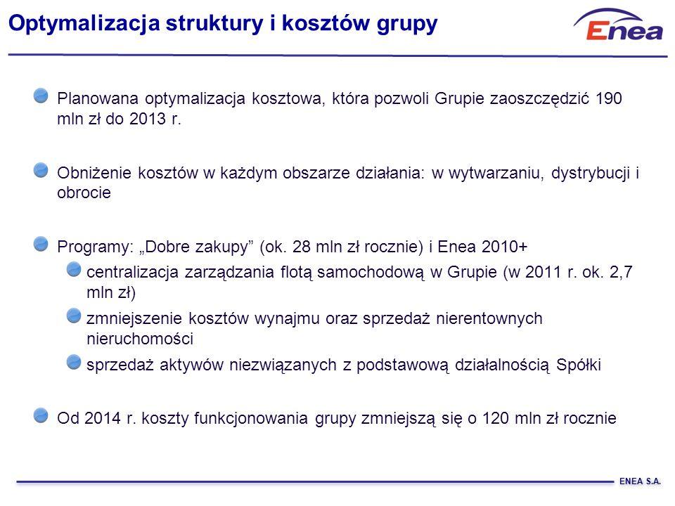 Optymalizacja struktury i kosztów grupy